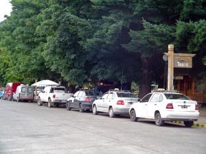 Taxis Plaza San Martín